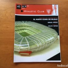 Coleccionismo deportivo: REVISTA OFICIAL ATHLETIC CLUB BILBAO N°10 ABRIL 2007. Lote 131135824