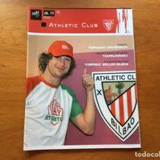 Coleccionismo deportivo: REVISTA OFICIAL ATHLETIC CLUB BILBAO N°11 JUNIO 2007. Lote 131135832