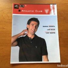 Coleccionismo deportivo: REVISTA OFICIAL ATHLETIC CLUB BILBAO N°14 DICIEMBRE 2007. Lote 131135848
