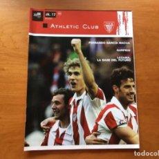 Coleccionismo deportivo: REVISTA OFICIAL ATHLETIC CLUB BILBAO N°17 JUNIO 2008. Lote 131135860