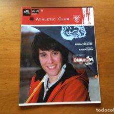 Coleccionismo deportivo: REVISTA OFICIAL ATHLETIC CLUB BILBAO N°20 DICIEMBRE 2008. Lote 131135884