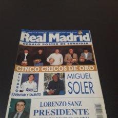 Coleccionismo deportivo: REVISTA REAL MADRID. N° 74. DICIEMBRE 1995. SIN POSTER.. Lote 131143605