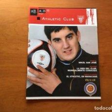 Coleccionismo deportivo: REVISTA OFICIAL ATHLETIC CLUB BILBAO N°25 MARZO 2010. Lote 131172392