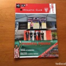 Coleccionismo deportivo: REVISTA OFICIAL ATHLETIC CLUB BILBAO N°26 JUNIO 2010. Lote 131172480