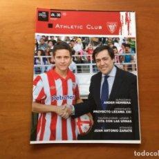 Coleccionismo deportivo: REVISTA OFICIAL ATHLETIC CLUB BILBAO N°30 JUNIO 2011. Lote 131172820