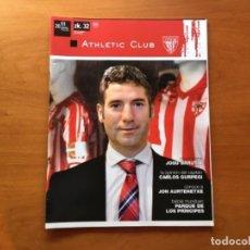 Coleccionismo deportivo: REVISTA OFICIAL ATHLETIC CLUB BILBAO N°32 DICIEMBRE 2011. Lote 131172944