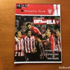 Coleccionismo deportivo: REVISTA OFICIAL ATHLETIC CLUB BILBAO N°33 MARZO 2012. Lote 131193364