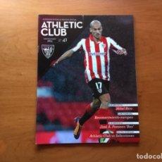 Coleccionismo deportivo: REVISTA OFICIAL ATHLETIC CLUB BILBAO Nº41 MARZO 2014. Lote 131193672
