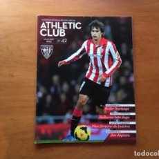Coleccionismo deportivo: REVISTA OFICIAL ATHLETIC CLUB BILBAO N°42 JUNIO 2014. Lote 131193728