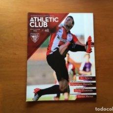 Coleccionismo deportivo: REVISTA OFICIAL ATHLETIC CLUB BILBAO N°48 DICIEMBRE 2015. Lote 131194040