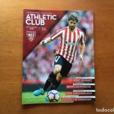 Coleccionismo deportivo: REVISTA OFICIAL ATHLETIC CLUB BILBAO N°52 DICIEMBRE 2016. Lote 131194168