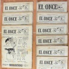 Coleccionismo deportivo: REVISTA DEPORTE, EL ONCE, AÑO 1957 VARIOS NÚMEROS .. Lote 131241679