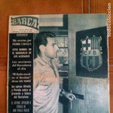 Coleccionismo deportivo: REVISTA BARÇA N,502 DE 1965. Lote 131246923
