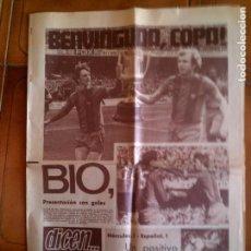 Coleccionismo deportivo: DIARIO DEPORTIVO DICEN N,4102 DE 1978 . Lote 131267147