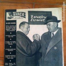 Coleccionismo deportivo: REVISTA BARÇA N,52 AÑO 1956. Lote 131267691