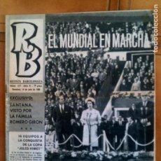 Coleccionismo deportivo: REVISTA BARÇA N,67 DE 1966. Lote 131267943