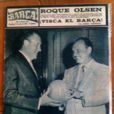 Coleccionismo deportivo: REVISTA BARÇA AÑO ,1965 NUMERO ,504. Lote 131269031