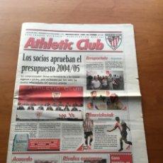 Coleccionismo deportivo: PERIÓDICO OFICIAL ATHLETIC CLUB BILBAO N°97 11/04. Lote 131312774