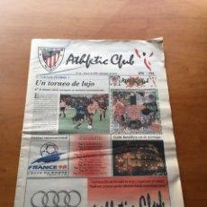 Coleccionismo deportivo: PERIÓDICO OFICIAL ATHLETIC CLUB BILBAO N°16 01/98. Lote 131312830