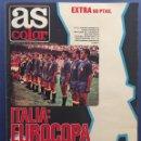 Coleccionismo deportivo: AS. N 472. EXTRA EUROCOPA 1980. PÓSTER DE ESPAÑA. Lote 131318785