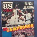 Coleccionismo deportivo: AS.N 470. VALENCIA CAMPEÓN RECOPA. CON POSTER. Lote 131318875