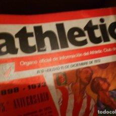 Coleccionismo deportivo: REVISTA ATHLETIC DE BILBAO 1973 A 1978 COMPLETA 144 NÚMEROS, MÁS NÚMERO 0. Lote 131421850