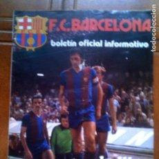 Collectionnisme sportif: REVISTA F,C BARCELONA N,52 OCTUBRE DE 1975. Lote 131541254