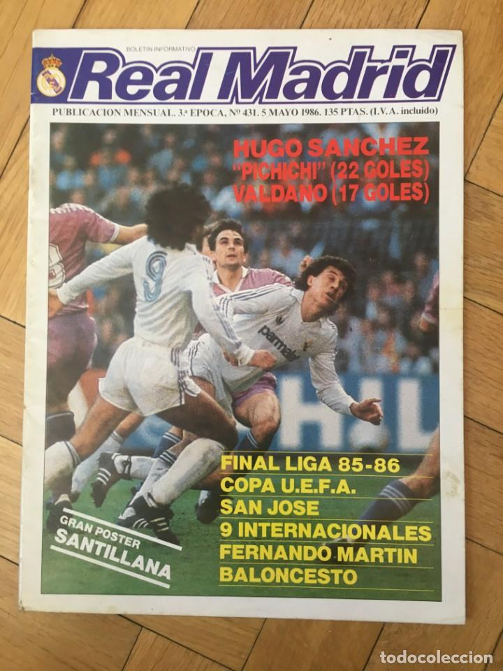 Revista Oficial Real Madrid Nº 431 Uefa Inter M Buy Other Old Football Magazines And Newspapers At Todocoleccion 131739426