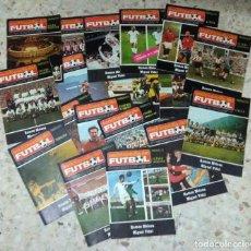 Coleccionismo deportivo: ENCICLOPEDIA DEL FUTBOL - RAMON MELCÓN - MIGUEL VIDAL - LOTE DE 22 REVISTAS. Lote 132093162
