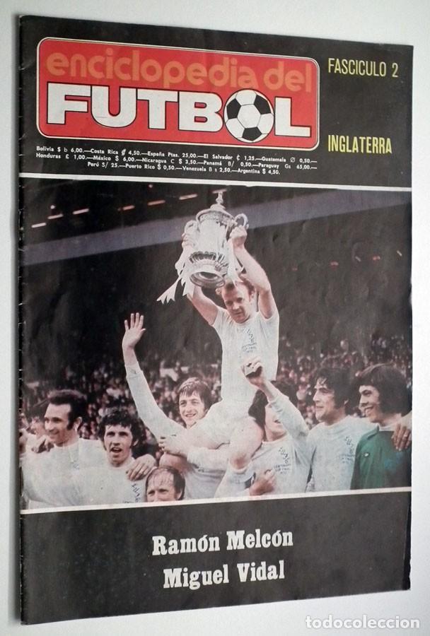 Coleccionismo deportivo: ENCICLOPEDIA DEL FUTBOL - RAMON MELCÓN - MIGUEL VIDAL - LOTE DE 22 REVISTAS - Foto 2 - 132093162