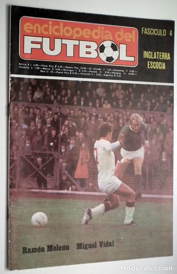 Coleccionismo deportivo: ENCICLOPEDIA DEL FUTBOL - RAMON MELCÓN - MIGUEL VIDAL - LOTE DE 22 REVISTAS - Foto 3 - 132093162