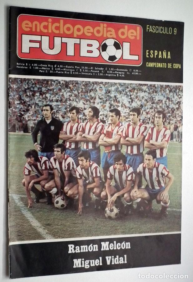 Coleccionismo deportivo: ENCICLOPEDIA DEL FUTBOL - RAMON MELCÓN - MIGUEL VIDAL - LOTE DE 22 REVISTAS - Foto 4 - 132093162