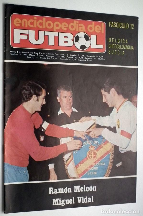 Coleccionismo deportivo: ENCICLOPEDIA DEL FUTBOL - RAMON MELCÓN - MIGUEL VIDAL - LOTE DE 22 REVISTAS - Foto 6 - 132093162