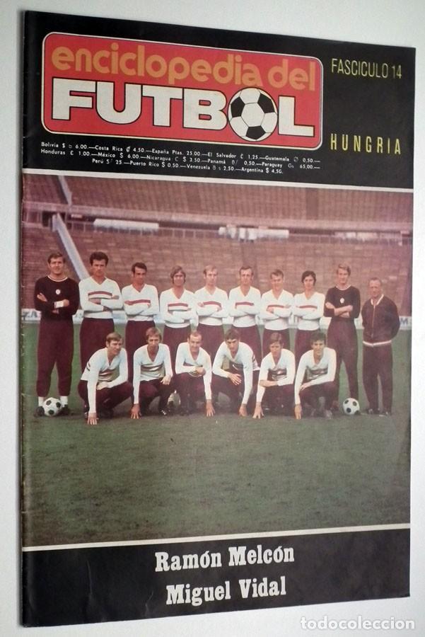 Coleccionismo deportivo: ENCICLOPEDIA DEL FUTBOL - RAMON MELCÓN - MIGUEL VIDAL - LOTE DE 22 REVISTAS - Foto 7 - 132093162