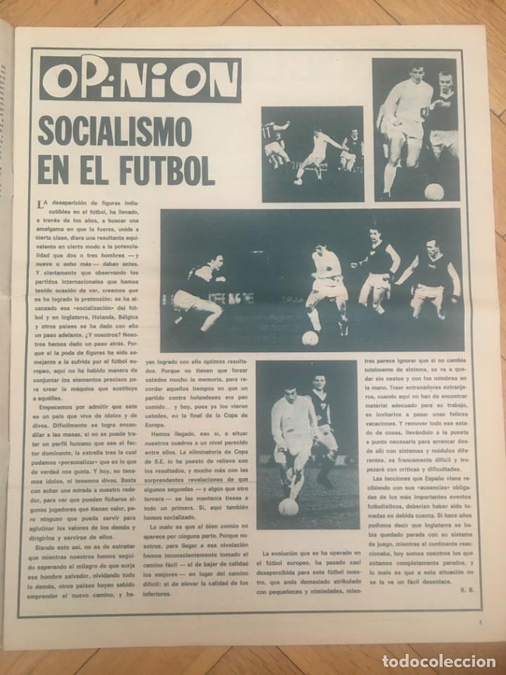 Coleccionismo deportivo: REVISTA R.B. RB Nº 268 (19-5-70) ASENSI CELTA DE VIGO 1-0 BARCELONA CASTRO - Foto 2 - 132332434