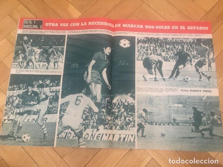 Coleccionismo deportivo: REVISTA R.B. RB Nº 268 (19-5-70) ASENSI CELTA DE VIGO 1-0 BARCELONA CASTRO - Foto 4 - 132332434