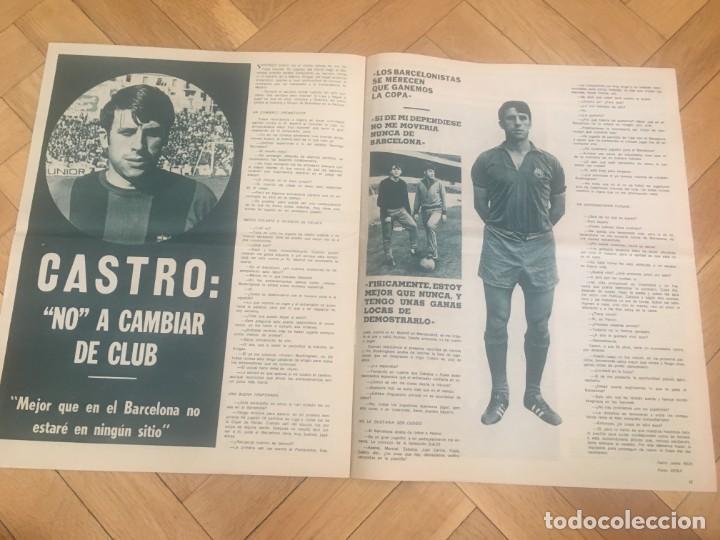 Coleccionismo deportivo: REVISTA R.B. RB Nº 268 (19-5-70) ASENSI CELTA DE VIGO 1-0 BARCELONA CASTRO - Foto 5 - 132332434