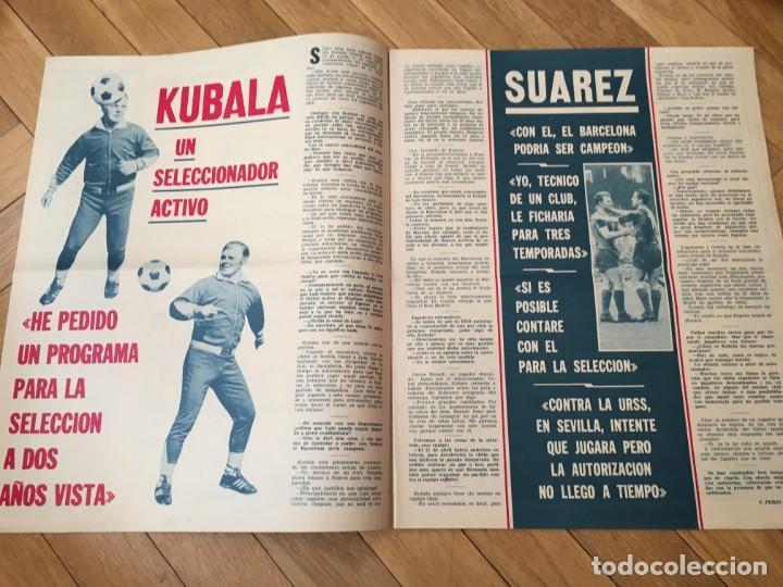 Coleccionismo deportivo: REVISTA R.B. RB Nº 362 (7-3-72) KUBALA CELTA DE VIGO 1-2 BARCELONA SUAREZ JUAN DIAZ SANCHEZ - Foto 2 - 132410382