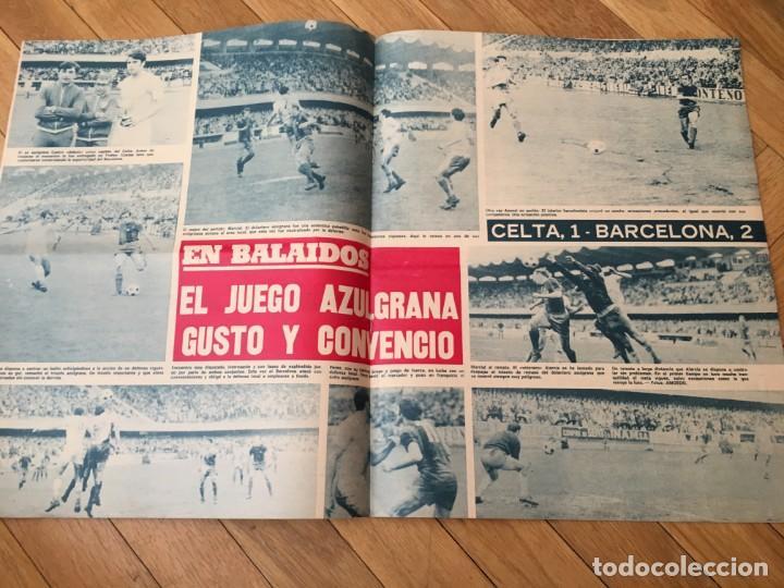 Coleccionismo deportivo: REVISTA R.B. RB Nº 362 (7-3-72) KUBALA CELTA DE VIGO 1-2 BARCELONA SUAREZ JUAN DIAZ SANCHEZ - Foto 4 - 132410382