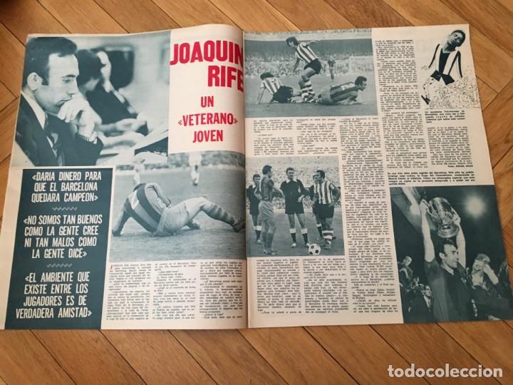 Coleccionismo deportivo: REVISTA R.B. RB Nº 398 (14-11-72) MICHELS JOAQUIN RIFE CELTA VIGO 0-0 BARCELONA - Foto 2 - 132579350