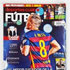 Coleccionismo deportivo: REVISTA DEPORTES CUATRO FUTBOL Nº 10 ABRIL 2016.. Lote 132596850