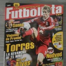 Coleccionismo deportivo: REVISTA FUTBOLISTA PORTADA FERNANDO TORRES. Lote 132747706