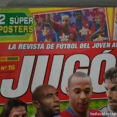 Coleccionismo deportivo: REVISTA JUGON NÚMERO 16 PÓSTER CRISTIANO RONALDO. Lote 132769722