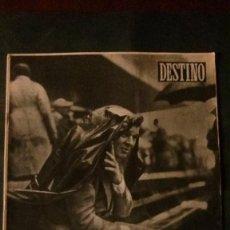 Coleccionismo deportivo: REVISTA DESTINO-1954-KUBALA. Lote 132940854