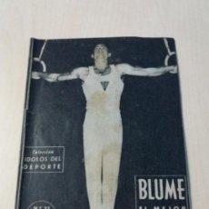 Colecionismo desportivo: COLECCION IDOLOS DEL DEPORTE Nº22 BLUME. Lote 154927525