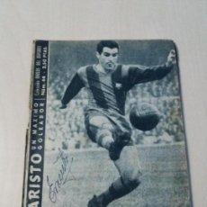 Coleccionismo deportivo: COLECCION IDOLOS DEL DEPORTE Nº44 EVARISTO. Lote 133094166