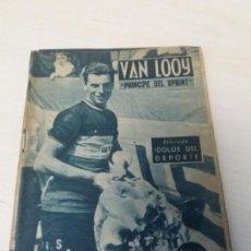 Colecionismo desportivo: COLECCION IDOLOS DEL DEPORTE Nº63 VAN LOOY. Lote 133103578