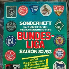 Coleccionismo deportivo: SONDERHEFT BUNDESLIGA 82/83. Lote 133681814