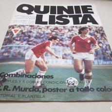 Coleccionismo deportivo: REVISTA QUINIELISTA ,N°28 MAYO 1983. Lote 133800949
