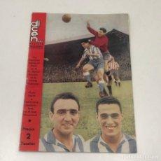 Coleccionismo deportivo: REVISTA DICEN - N-163 - 12 NOVIEMBRE 1955 - PORTADA MAURI, GAMIZ Y CASAMITJANA. Lote 133995550